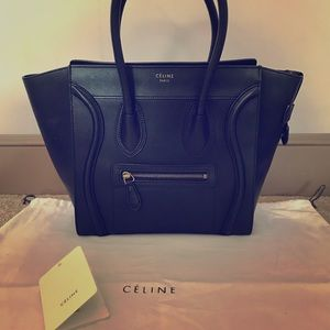 Celine Bags - CÉLINE MICRO LUGGAGE HANDBAG IN SMOOTH CALFSKIN